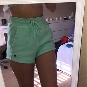 Champion Shorts - Champion high waisted reverse weave shorts